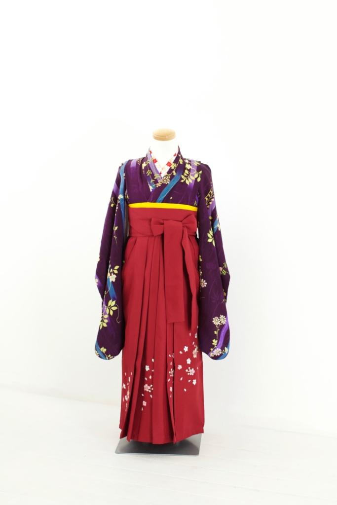紫地花アンティーク