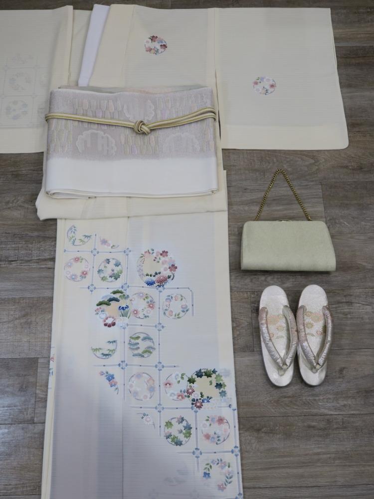 <レンタルきもの>お宮参り・夏のお母さん着物